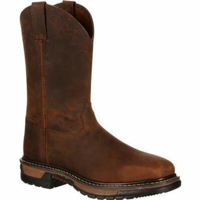 """Rocky Original Ride Men's 11"""" Steel Toe Western Boot RKW0117 - Main - Only $140 - LA Police Gear"""