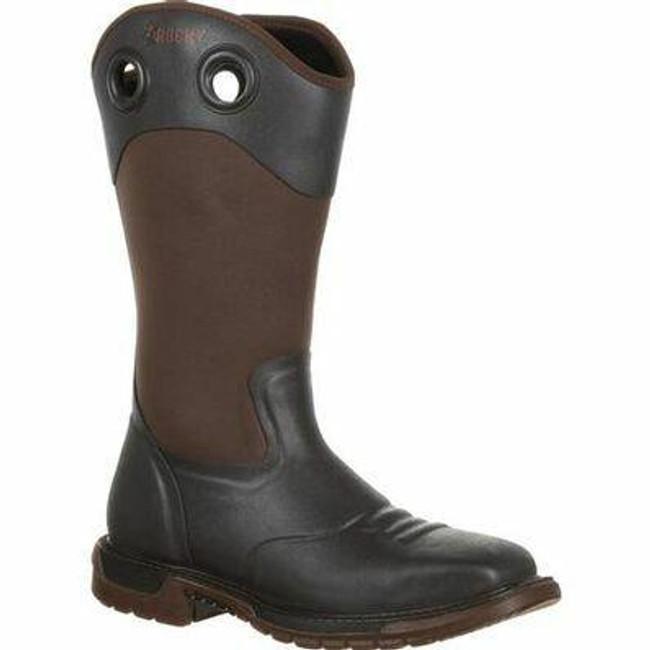 """Rocky Original Ride FLX Men's 14"""" Steel Toe Rubber Boot RKW0244 - Main - Only $133 - LA Police Gear"""