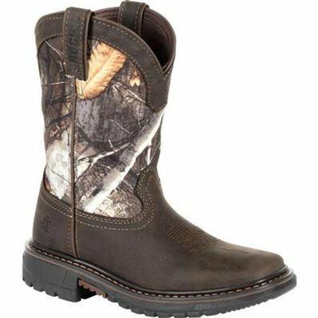 """Rocky Kids' Ride FLX 8"""" Waterproof Western Boot RKW0258C  - Main- Only $72 - LA Police Gear"""