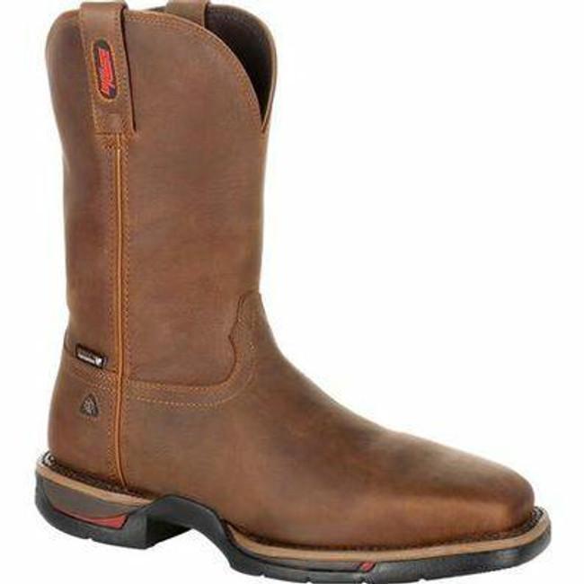 """Rocky Long Range Men's 11"""" Steel Toe Waterproof Western Boot RKW0279 - Main - Only $185 - LA Police Gear"""