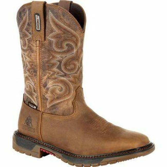 """Rocky Original Ride FLX Women's 10"""" Waterproof Western Boot RKW0298 - Main - Only $155 - LA Police Gear"""
