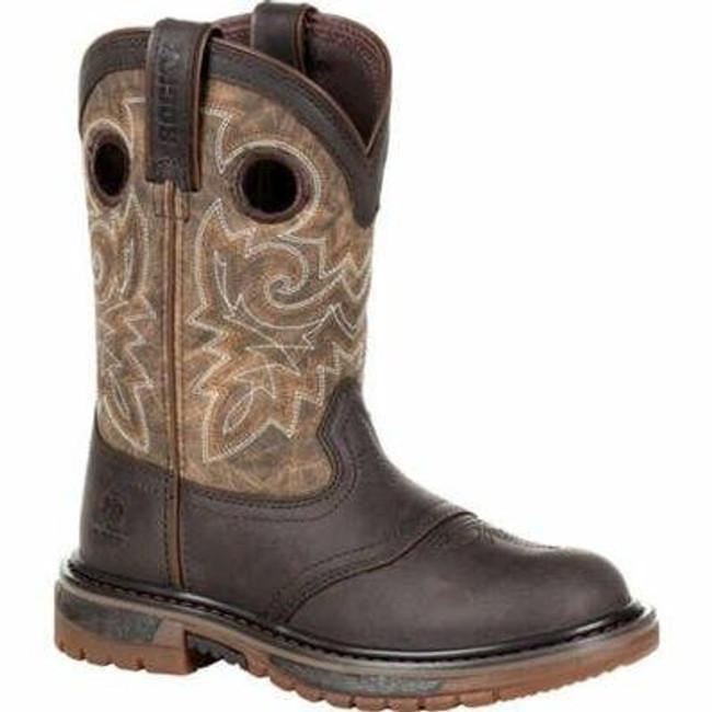 "Rocky Kid's Original Ride FLX 8"" Western Boot RKW0301C  - Main - Only $70 - LA Police Gear"
