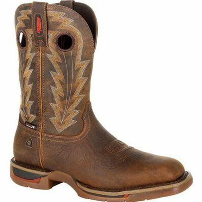 """Rocky Long Range Men's 11"""" Composite Toe Waterproof Western Boot RKW0303 - Main - Only $195 - LA Police Gear"""