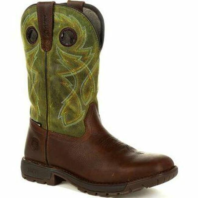 """Rocky Legacy 32 Men's 11"""" Waterproof Western Boot RKW0318  - Main - Only $180 - LA Police Gear"""