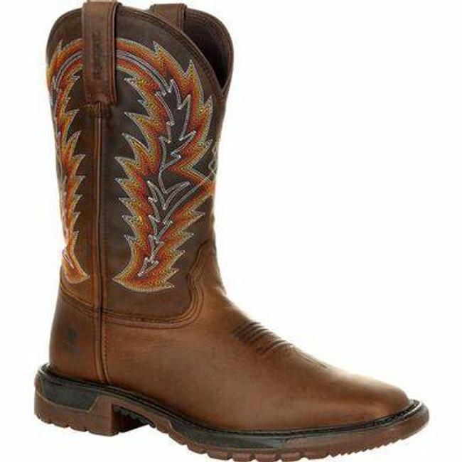 "Rocky Original Ride FLX Men's 11"" Western Boot RKW0322 - Main - Only $160 - LA Police Gear"