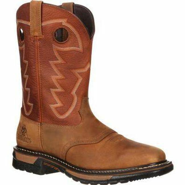 """Rocky Original Ride Men's 11"""" Waterproof Western Boot RKYW039 - Main - Only $170 - LA Police Gear"""