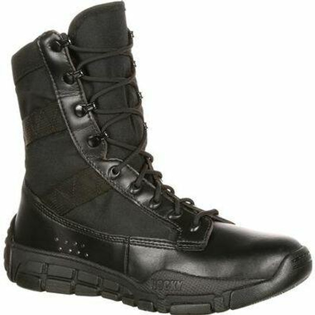 """Rocky C4T Men's 11"""" Military Inspired Public Service Boot RY008 - Main - Only $99 - LA Police Gear"""
