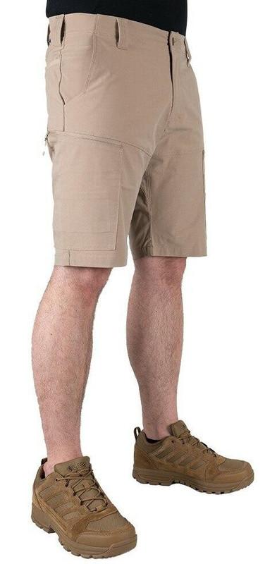 LA Police Gear Men's BFE Stretch Shorts - Khaki