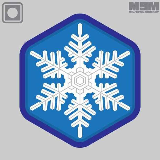 Mil-Spec Monkey Unique Snowflake PVC Patch UNIQUESNOWFLAKEPVC