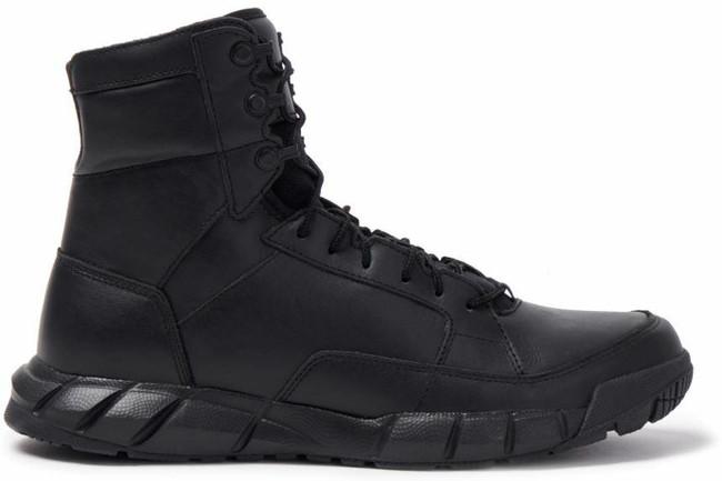 Oakley SI Light Assault Black Leather Boot - Side