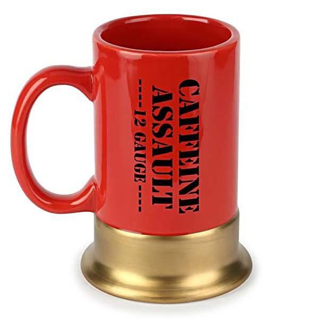 Caliber Gourmet 12 Gauge Caffeine Assault Mug - CBG-M-1008 - Main -Only $10.99 - LA Police Gear