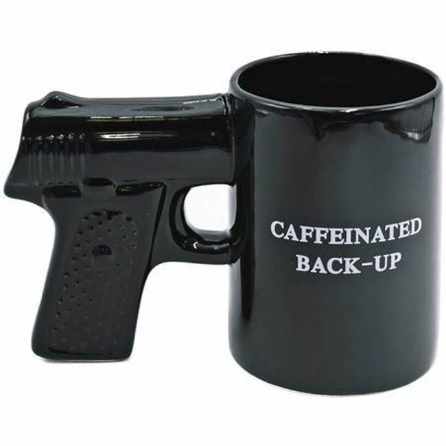 Caliber Gourmet Black Gun Mug - CBG-M-1049 - Main - Only $10.99 - LA Police Gear