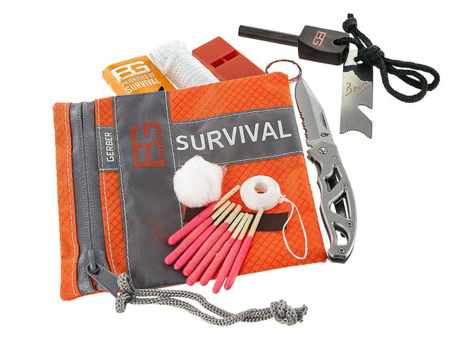 Gerber Bear Grylls Basic Survival Kit 31-000700 013658120228