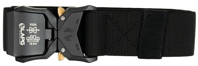 LA Police Gear MTB Tactical Belt with Metal Tac Buckle