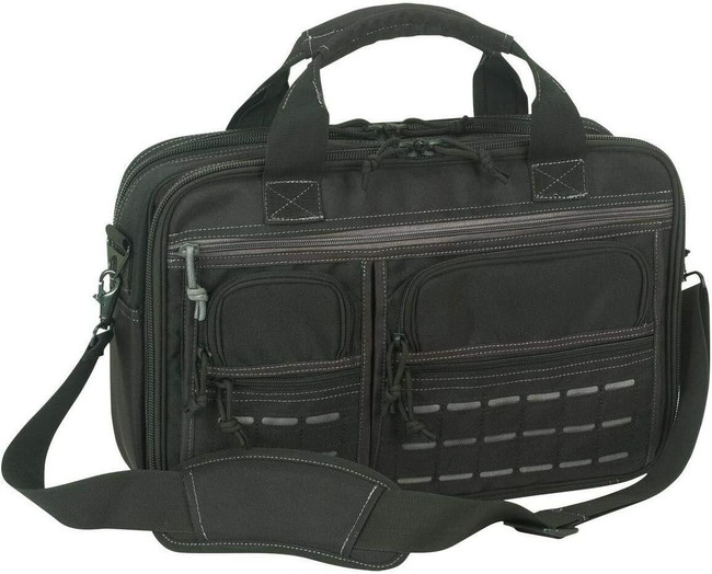 Voodoo Tactical Platinum Executive Series Briefcase With Die Cut MOLLE