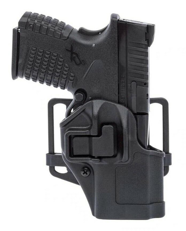 Blackhawk CQC Serpa Holster - Matte Finish - 410570BK-R