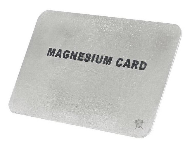 5ive Star Gear Magnesium Fire Card