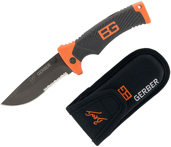 Gerber Bear Grylls Folding Sheath Knife 31-000752 013658120242
