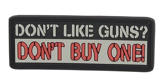 5ive Star Gear Don't Like Guns Morale Patch