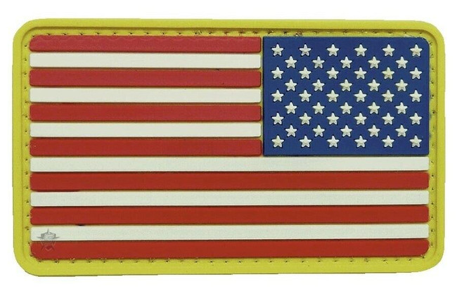 5ive Star Gear U.S. Flag Morale Patch Reversed