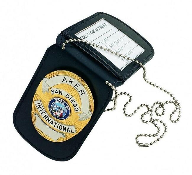 Aker Model 597 Reversible Badge & I.D. Holder feature