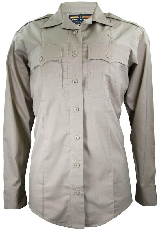 United Uniform Women's LASD Advanced Patrol Long Sleeve Uniform Shirt