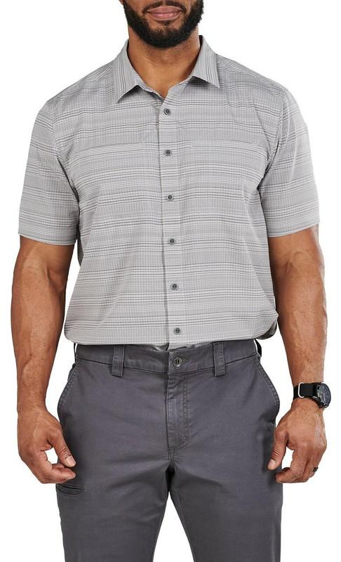 5.11 Tactical Ellis Short Sleeve Shirt - Steam
