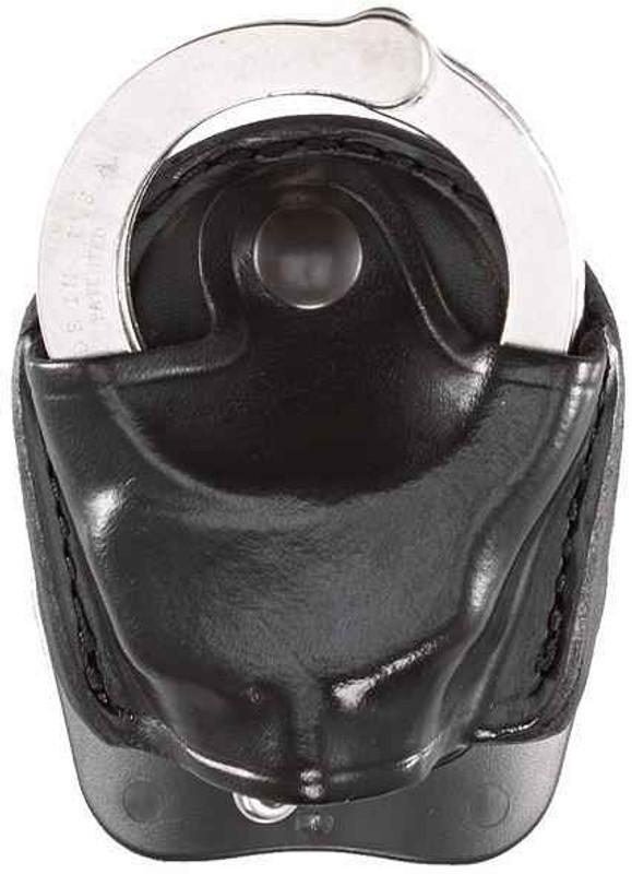 Aker Model 607 D.M.S. Handcuff Case black plain front