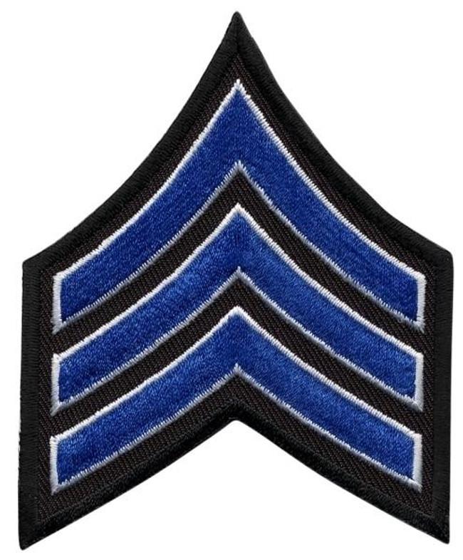 Hero's Pride Sergeant Chevrons - Only $1.99 - LA Police Gear
