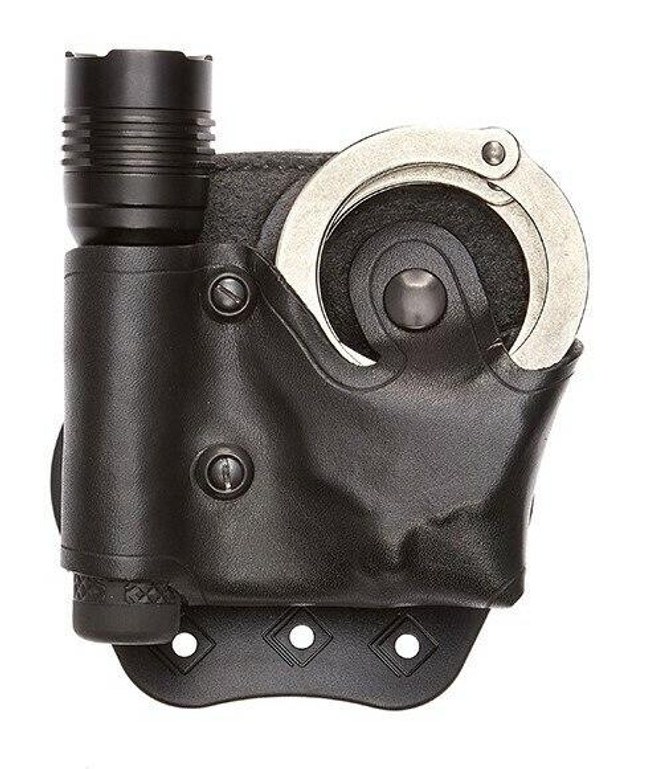 Aker Model 618 D.M.S. Paddle Light & Cuff Case black front