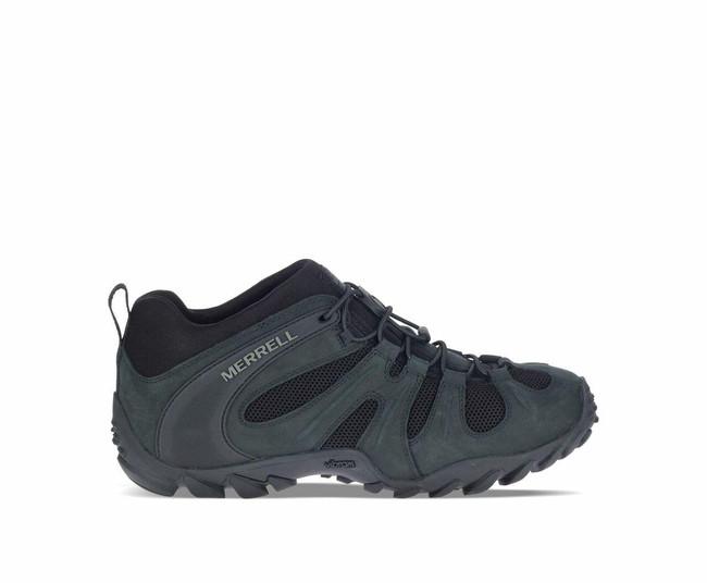 Merrell Men's Cham 8 Stretch Tactical Shoe Black