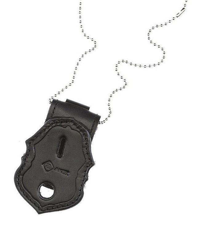 Aker Model 690 Recessed Federal Badge Holder black