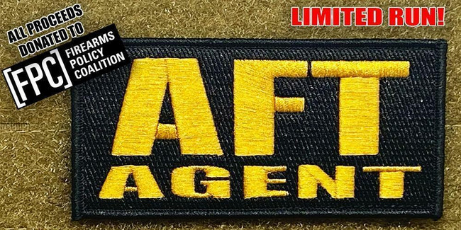 Tactical Outfitters AFT Agent Morale Patch