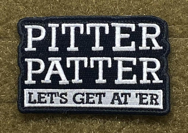 Tactical Outfitters Pitter Patter Morale Patch