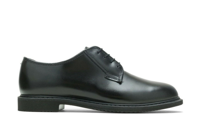 Bates Lites Women's Black Leather Oxford Duty Shoe E00732