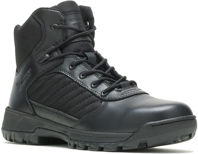 Bates Men's Tactical Sport 2 Mid Side Zip Black Boot