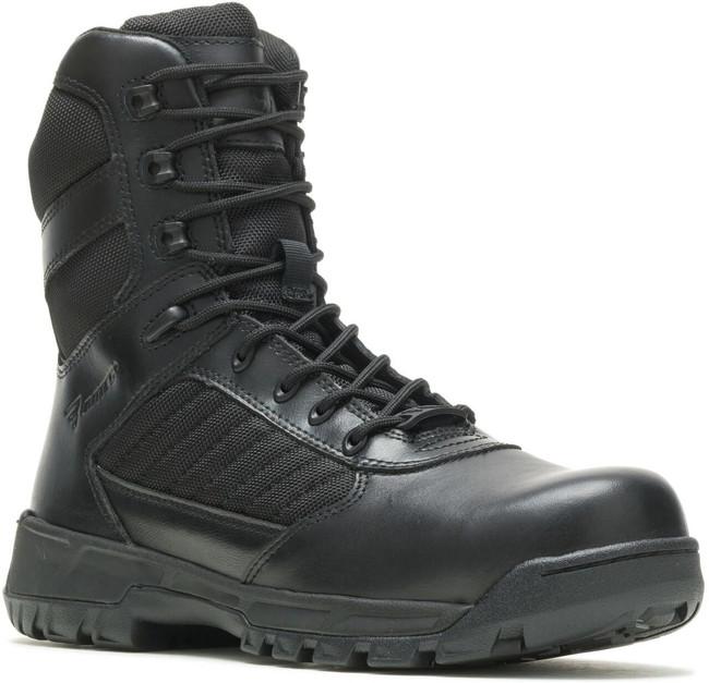 Bates Men's Tactical Sport 2 Tall Side-Zip Composite Toe Black Boot