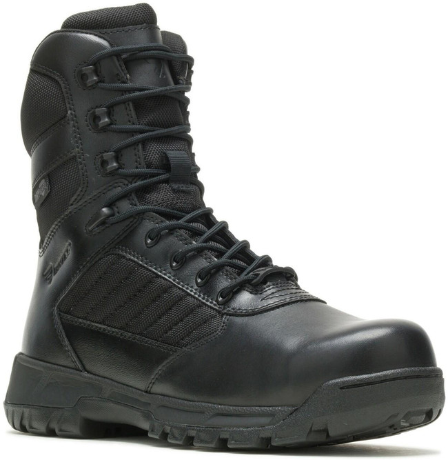 Bates Men's Tactical Sport 2 Tall Side-Zip Composite Toe Dryguard Black Boot