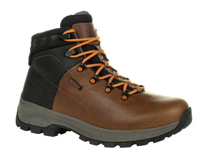 "Georgia Boot Eagle Trail 6"" Brown Waterproof Hiking Boot"