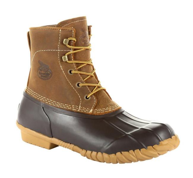 "Georgia Boot Marshland 6"" Brown Alloy Toe Duck Boot"