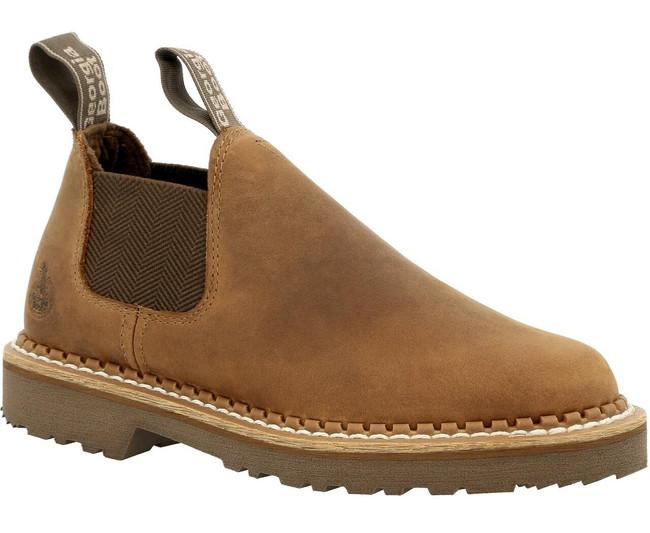 "Georgia Boot Giant Revamp 3"" Brown Women's Romeo Shoe"