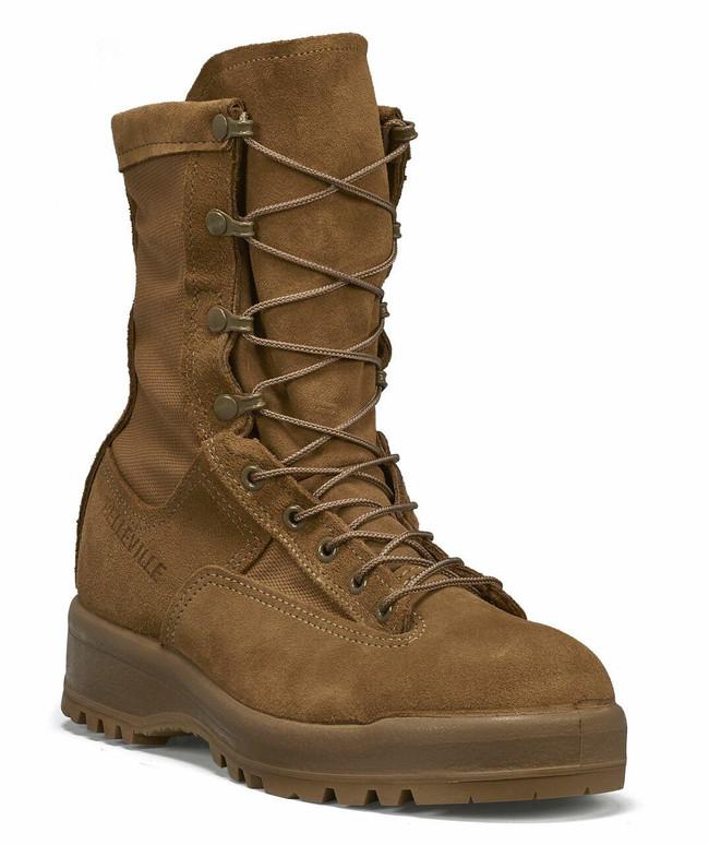 "Belleville Boots Men's 8"" Waterproof Steel Safety Toe Flight and Combat Boot - C790ST  - LA Police Gear"