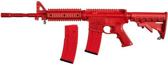 ASP Products M4 Flat Top with Two Magazines - Enhanced Training Gun