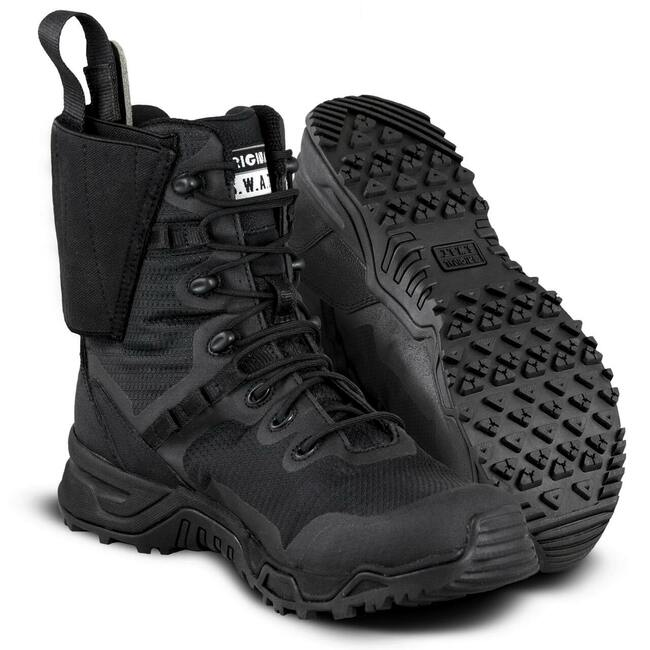 """Original S.W.A.T. Alpha Defender 8"""" Black Boot"""