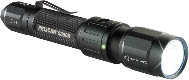 Pelican 2380R Rechargeable Tactical Flashlight 2380R
