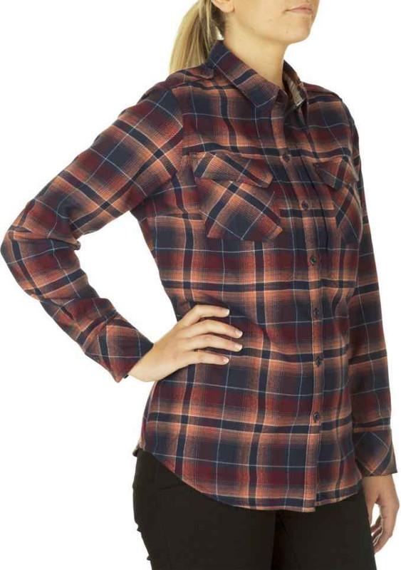 5.11 Tactical Womens Heartbreaker Flannel Shirt 62382