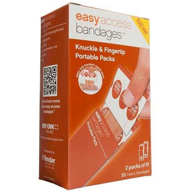 Adventure Medical Kits Easy Access Bandages, Fabric, Knuckle Fingertip, 20 Count 0095-2001 044224020017