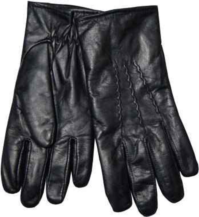 Gloves For Professionals Elastic at Wrist Cowhide Leather Glove 7314