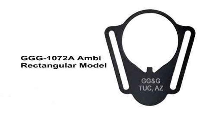 GGandG Receiver End Plate Ambi Sling Attachment Rectangular 1072A 813157000386