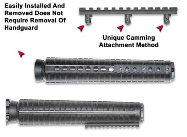 GGandG ETI Under Foregrip Rail for AR-15/M16 1120-GG 813157000461